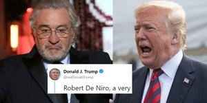 De Niro and Trump